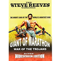 Steve Reeves Double Feature: Giant of Marathon & War of the Trojans