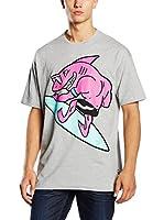 Love Moschino Camiseta Manga Corta (Gris)