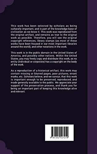 Annual Report, Volume 27
