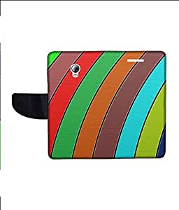 KolorEdge Printed Flip Cover For Lenovo P1 Multicolor - (1479-55KeMLogo12329LenovoP1)