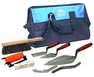 MARSHALLTOWN The Premier Line BTK2 Bricklayer Apprentice Tool Kit with 20-Inch Nylon Tool Bag
