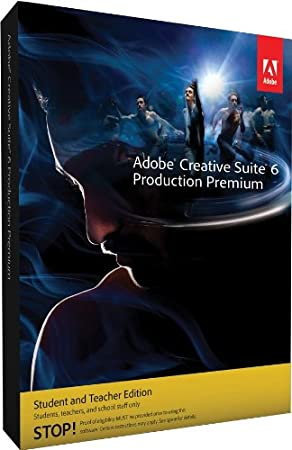 Adobe Creative Suite 6 Production Premium, Student and Teacher Version (PC)
