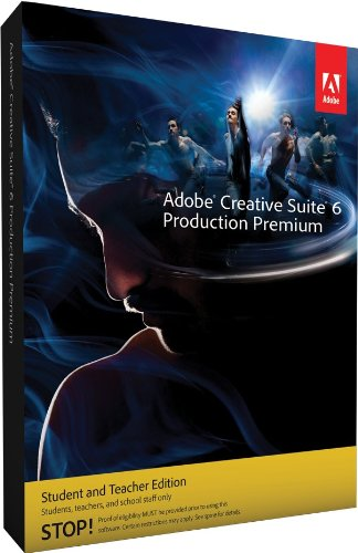 Adobe CS6 Production Premium Student and Teacher Edition Mac