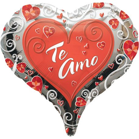 "18"" Te Amo From The Heart (1 c"