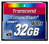 Transcend 32 GB Compact Flash Card 400X (Blue)  Laptop
