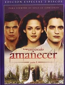 Amanecer - Parte 1 (2 Discos) [DVD]
