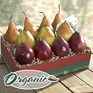 Organic Golden State Pears to Compare Ultimate Fruit Gift