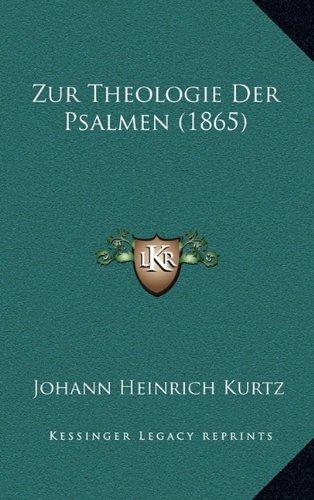 Zur Theologie Der Psalmen (1865)