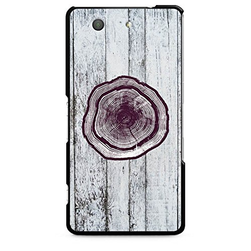sony-xperia-z3-compact-hulle-schutz-hard-case-cover-stamm-holz-look-baumstamm