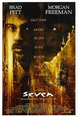 Se7En Seven Movie Poster 11x17 Master Print