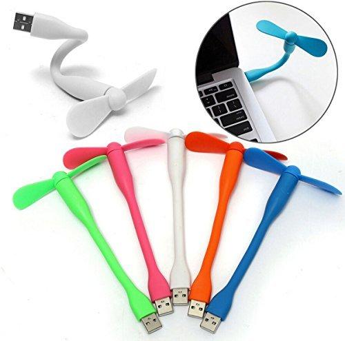 Fusicase Fan,Fusicase Fashion Style New Portable Mini Notebook Laptop Desktop Super Mute PC USB Cooler Cooling Desk Fan(Blue) (Desk Fan Teal compare prices)