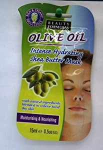 Beauty Formulas Olive Oil Intense Hydrating SheaButter (Pack of 1)