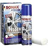 SONAX 236100 XTREME FelgenVersiegelung NanoPro, 250ml inkl. 4 Poliervliesen
