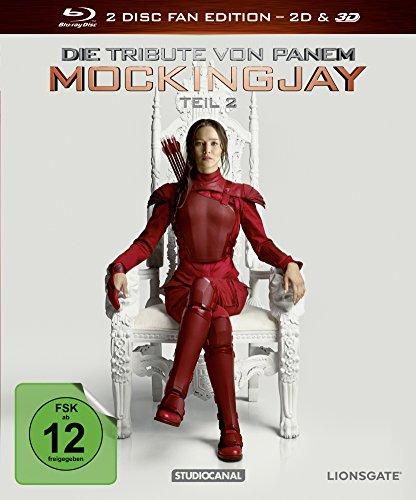 Die Tribute von Panem - Mockingjay Teil 2 [3D Blu-ray]