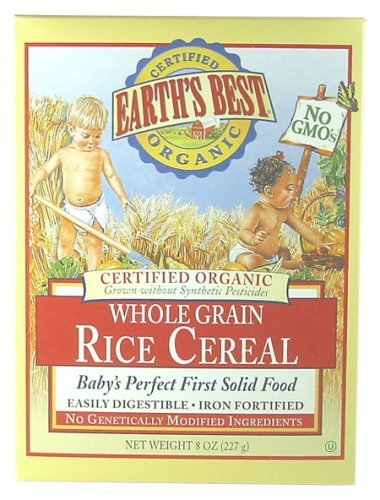 Earth's Best - Organic - Rice Cereal - 8 Oz Kids, Infant, Child, Baby Products