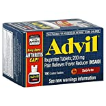 Advil Pain Reliever/Fever Reducer, 200 mg, Coated Tablets, 150 tablets