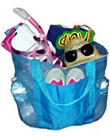 Whale (Huge) X-Large Coated Mesh Family Beach Bag /Tote - 4 Colors