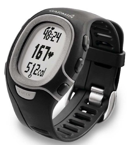 Fitness Watch with Heart Rate Monitor - Mens Black