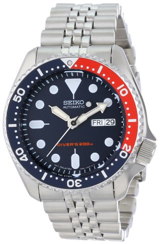 Seiko Men's SKX175 Stainless Steel Automatic Dive Watch