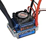 Hobbypower 60A SL  V2「T 型プラグ」   ブラシレス スピード コントローラー Brushless Speed Controller ESC 適用 RC 1/10 1/12 カー