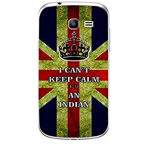 Skin4gadgets I CAN'T KEEP CALM I'm An Indian - Colour - UK Flag Phone Skin for SAMSUNG GALAXY TREND (S7392)
