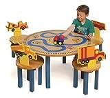 Room Magic Table/4 Chairs Set, Trucks