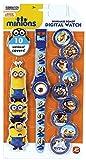 Minions - Reloj Digital con 10 mantas 1027-64126