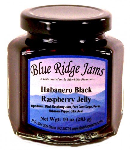 Blue Ridge Jams: Habanero Black Raspberry Jelly,