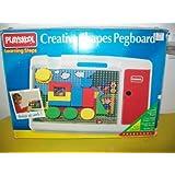 Playskool Creative Shapes Pegboard Learning Steps