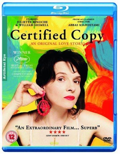 Certified Copy [Blu-Ray] By Artificial Eye