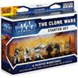 The Clone Wars Starter: A Star Wars Miniatures Game Starter