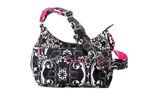 Ju-Ju-Be HoboBe Purse Diaper Bag, Shadow Waltz