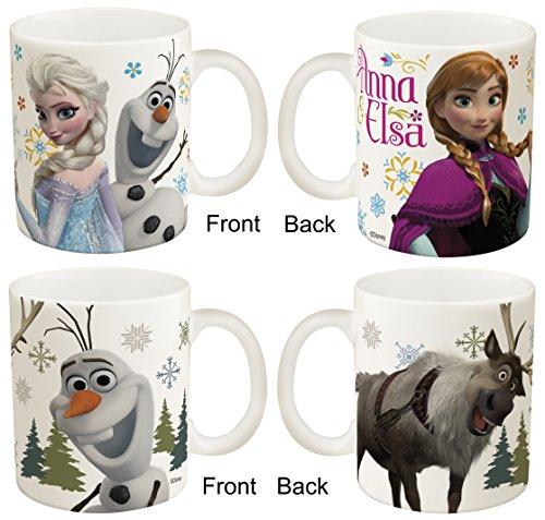 Disney Frozen Two Mug Set, Anna & Elsa And Olaf & Sven