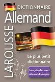 Larousse Micro Allemand: Le plus petit dictionnaire