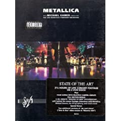 Metallica with San Francisco Symphony Orchestra: S&M [DVD] [Import]