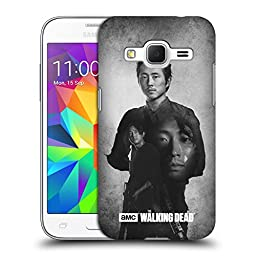 Official AMC The Walking Dead Glenn Double Exposure Hard Back Case for Samsung Galaxy Core Prime