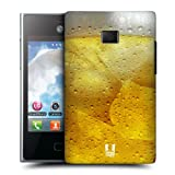 Head Case Designs Beer Thirst Quencher Back Case Cover For Lg Optimus L3 E400