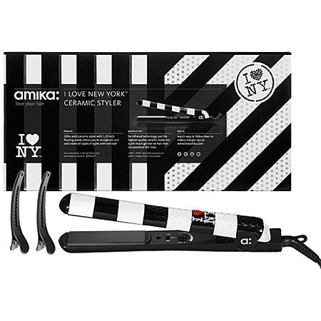Amika I Love NY Ceramic Styler Flat Iron 1.25 (Flat Iron Amika compare prices)