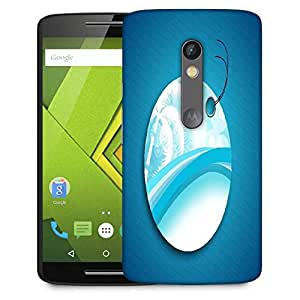 Snoogg Abstract Summer Background Designer Protective Phone Back Case Cover For Moto G 3rd Generation