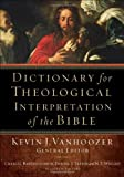 img - for Dictionary for Theological Interpretation of the Bible book / textbook / text book
