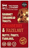 Foods of Athenry Cranberry and Hazelnut Crackers 110 g