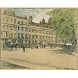 Arch Row, Lincoln's Inn Fields, by Thomas Robert Way (V&A Custom Print)