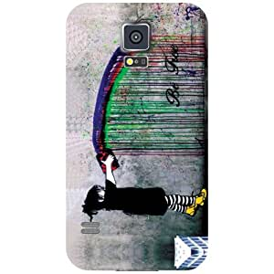Samsung Galaxy S5 Back Cover - Matte Finish Phone Cover