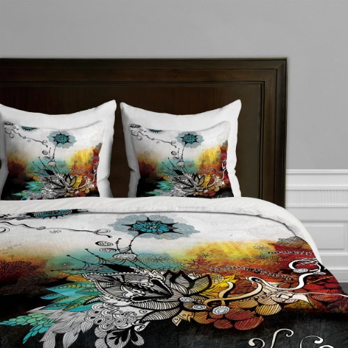Deny Designs Iveta Abolina Frozen Dreams Duvet Cover, King front-929164