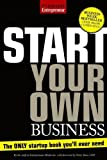 img - for Start Your Own Business, Fifth Edition (Start Your Own Business: The Only Start-Up Book You'll Ever Need) by Entrepreneur Press (2010) Paperback book / textbook / text book