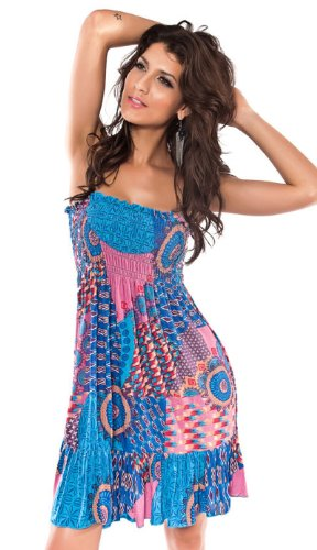 Sun Dress Beach Cover Up - Strapless