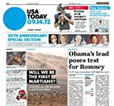 img - for USA Today : the Nations Newspaper - 1 Year Subscription book / textbook / text book