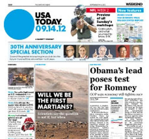 USA Today : the Nations Newspaper - 3 Month Subscription