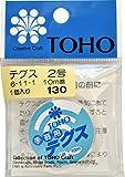 TOHO テグス 太さ約0.23mm×約10m巻 6-11-1 (2号) スキ