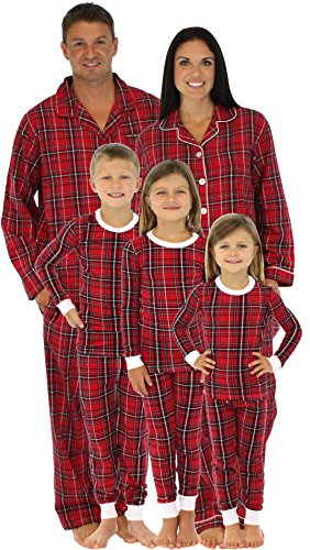 Matching Flannel Pajamas Breeze Clothing